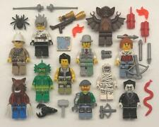 11 Lego Monster Fighters Minifig Lot: Werewolf Crazy Scientist Mummy Vampire