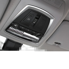 Steel Front Reading Light Lamp Cover Trim For BMW 7 Series F01 F02 2010- 2015