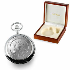 Engraved First Holy Communion Pocket Watch in a Wooden Box 1st Communion Gifts