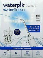 WATERPIK Ultra Platinum Water Flosser ~ Classic White ~ ONE TIP             *Q12