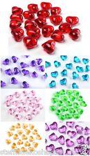 SiDeSo® 30 Herzen Acryl Hochzeit Valentinstag Streudeko Tischdeko Liebe Deko
