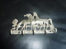 Vintage Decorative Old Horse Key Holder HOOK RACK - 5 HOOKS