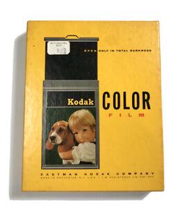 "KODAK Ektacolor Professional Color Negative 6101 4"" x 5"" Type S ~ 1970 / SEALED"