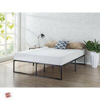 Zinus Full Size Metal Platform Bed Frame Mattress Foundation Steel Slat Support