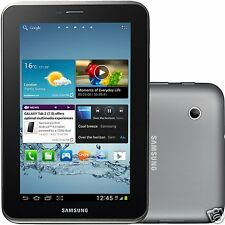 NEW SAMSUNG GALAXY TAB 2 7.0 P3100 8GB UNLOCKED 3G SIM CARD + WIFI TABLET BLACK