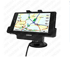 IMOBI4 3-in-1 Magnetic Charger Mount Cradle With Car Holder For Sony Xperia Z1