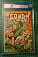 CONAN THE BARBARIAN #7 CGC GRADED AT 9.6 OFF-WHITE TO WHITE PAGES