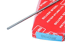 1 x 0.75mm Dia x 333mm Long Silver Steel Rod Bar STUBS LTD UK Made Welding M0702