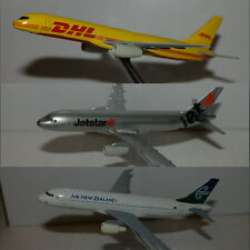 DHL Boeing 757-200F, Air New Zealand and Jetstar A320. Scale 1/250