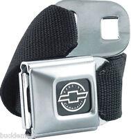 Genuine CHEVROLET Logo seatbelt  Belt with Buckle seat belt
