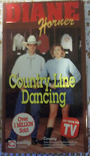 Diane Horner's Country Line Dancing (VHS, 1992)