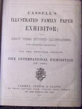 1862 International Exhibition Cassell's Exhibitor 300 ill. London book