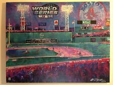 2004 Red Sox World Series Giclee on Canvas - Bill Lopa - Fenway Park