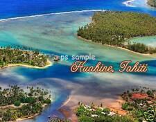 Tahiti - HUAHINE - Travel Souvenir Fridge Magnet