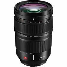 Panasonic Lumix S PRO 24-70mm f/2.8 Lens - S-E2470