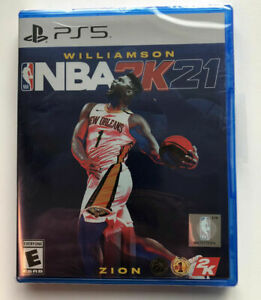 NBA 2K21 - PS5 PLAYSTATION 5 BRAND NEW FACTORY SEALED FREE AND FAST SHIPPING