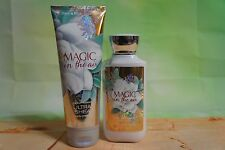 NEW Bath & Body Works Magic in the aur body lotion and body cream full size