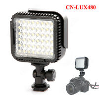 Protable CN-LUX480 48 LED Video Light Lamp for Canon Nikon Camera DV Camcorder