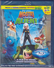 Blu-ray DreamWorks **MOSTRI CONTRO ALIENI** nuovo 2009