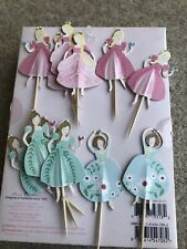 12 Princess Cupcake Toppers Cake Decoration Cake Topper BN