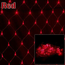 3M*2M 6M*4M LED String Fairy Lights Net Mesh Lamp Wedding Party Curtain Outdoor