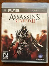 Assassin's Creed II (2) - PS3 Game - PlayStation 3 - Complete - Excellent!