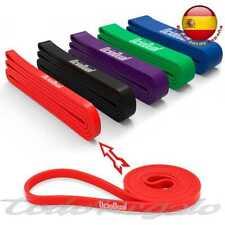 Banda Elastica de Resistencia para Fitness Entrenamiento Body Crossfit 13mm Roja