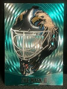 ED BELFOUR 2002-03 In the Game Be A Player Between Pipes THE MASK II Card #M-28