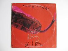 ALICE COOPER SIGNED KILLER ALBUM VINYL RECORD LP DC/COA