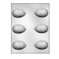 CK Products Cracked Egg 3D Chocolate Mold, 2-1/2
