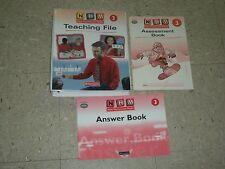 NHM NEW HEINEMANN MATHS 3rd Grade 3 Teaching File+Assessment+Answer Book