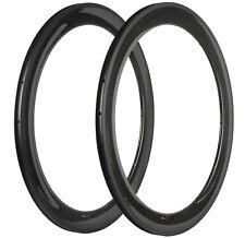 Full Carbon Rims Rim 60mm 700C Clincher/Tubeless/Tubular 16/18/20/21/24/28/32/36