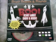 Boo Scary Ghost Show & Music Dvd Scary Scenes & Sounds Ghostly Galaxy Of Fright