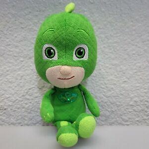 """PJ Masks Gekko Green Plush Stuffed Toy 9"""" Frog Box Just Play"""