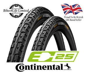2 Continental Tour Ride 700 x 28c Wired Bike Tyres