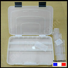 Grande boîte en plastique pour perle , composant électronique,  pêche ......