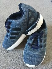 Genuine Adidas Blu Scuro Elastico Bambino Neonato Tg UK 6
