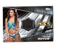 WWE Peyton Royce 2016 Topps Divas Revolution Event Used Mat Relic Card SN 12/199