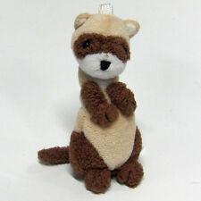 Petite Ferret Plush cute & realistic ( Sable )