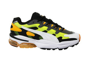 Puma Cell Alien OG Yellow Orange Low Lace Up Mens Trainers 369801 07