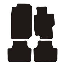 Honda Accord 2004-2008 Manual Tailored Black Car Floor Mats Carpets 4 Piece Set