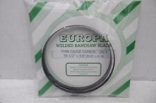 """EUROPA THIN GAUGE CARBON BANDSAW BLADE 561/2"""" X 3/8"""" X 6TPI TO FIT BURGESS BK1"""