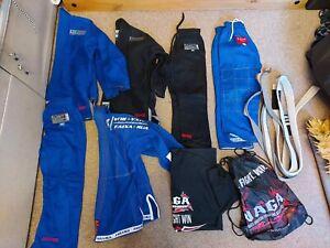 Bundle Of Tatami Jujitsu Clothes, Belt And Bag - Size M0