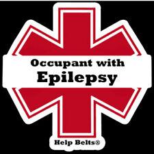 Epilepsy Window Cling by Help Belts®