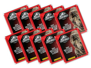 Panini Jurassic World The Ultimate Album Collection 2020-10 sealed sticker packs