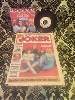 ABBA , Single, I Do I Do I Do, Vogue & Titelseite Musik Joker, selten rare
