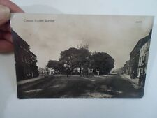 WWI Era Real Photo Postcard Cannon Square, Retford Franked+Stamped 1917 §A1714