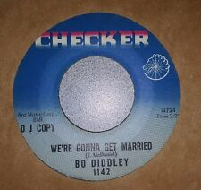 "Bo Diddley ‎– We're Gonna Get Married / 7"", Promo, Single Sided"