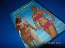JOSIE GIBSON 30 SECOND SLIM WORKOUT DVD EXERCISE UNWANTED XMAS PRESENTS GIFTS
