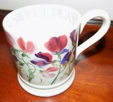 EMMA BRIDGEWATER  SWEET PEA MULTI 1/2 PINT MUG   1ST QUALITY